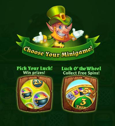 Clover Magic Slot Machine at Big Fish Casino - Scatter Bonus Round