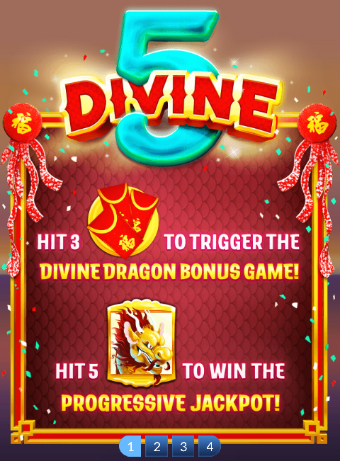 Divine 5 Slot Machine at Big Fish Casino - How to Play