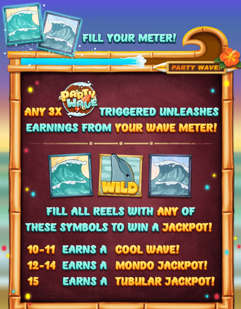 Party Wave Slot Machine at Big Fish Casino - How to Play