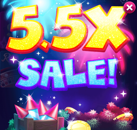 Big Fish Casino Chips & Gold Sale