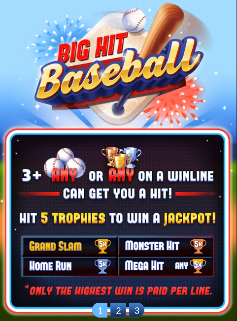 Big Hit Baseball Slot Machine at Big Fish Casino - How to Play