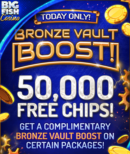 Surprise Freebie: 50,000 Free Chips