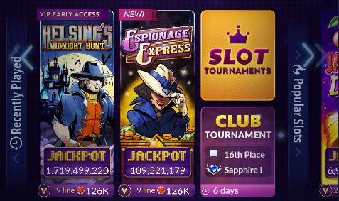 New Slots Lobby