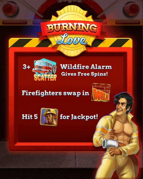 Burning Love Slot Machine at Big Fish Casino - How to Play