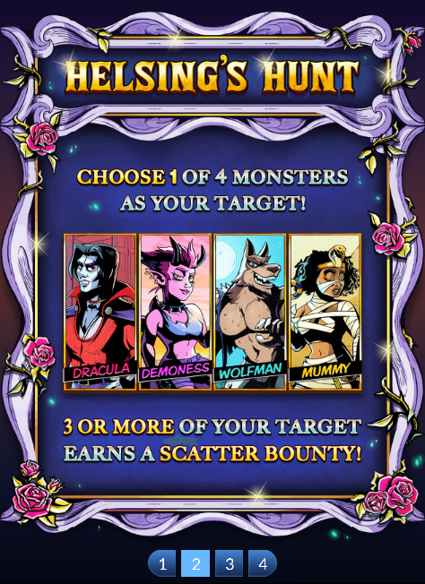 Helsing's Midnight Hunt Slot Machine at Big Fish Casino - How to Play