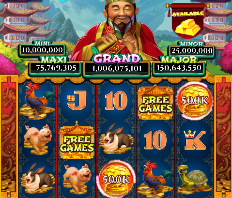 Big Fortune Valley Slot Machine at Big Fish Casino