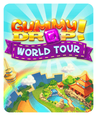 Gummy Drop! World Tour Slot Machine at Big Fish Casino