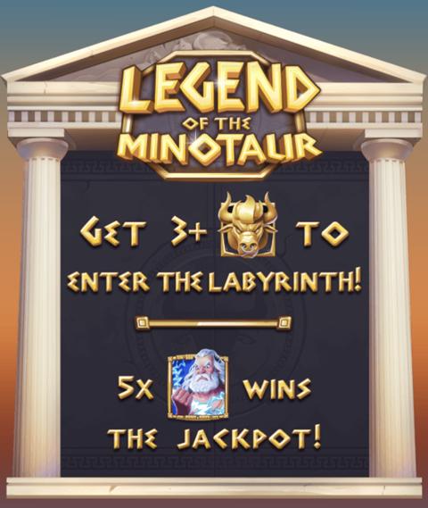 Legend of the Minotaur Slot Machine at Big Fish Casino - How to Play