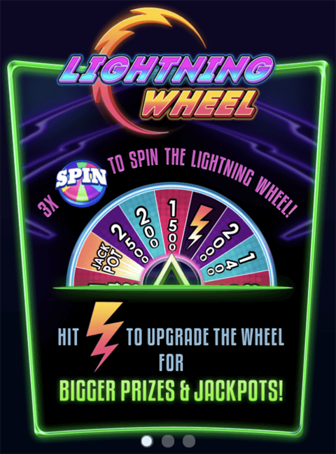 Lightning Wheel Slot Machine at Big Fish Casino - How to Play