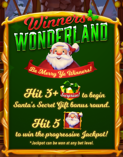 Winners Wonderland Slot Machine at Big Fish Casino: How to Play
