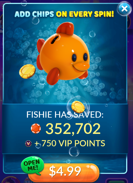 Big Fish Casino: Piggy Bank Fishie