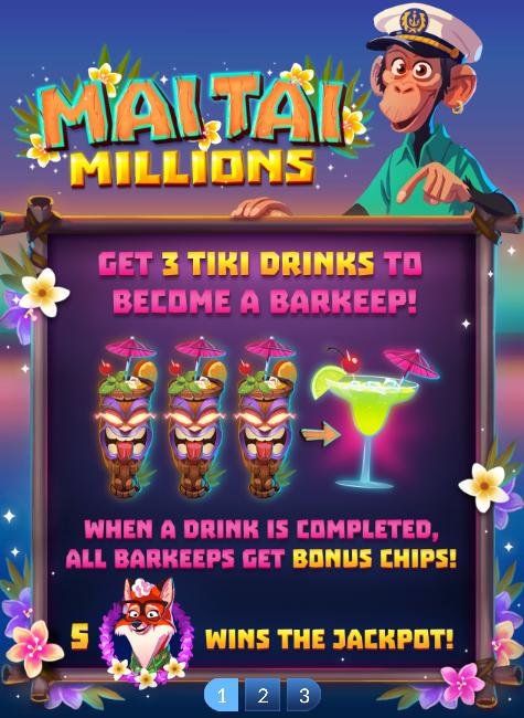Mai Tai Millions Slot Machine at Big Fish Casino - How to Play