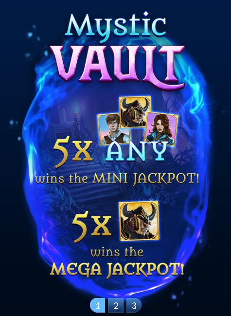 Mystic Vault Slot Machine at Big Fish Casino - How to Play