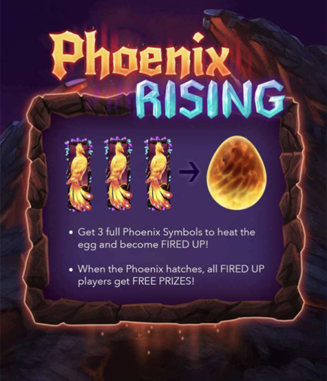 Phoenix Rising Slot Machine at Big Fish Casino - How to Play