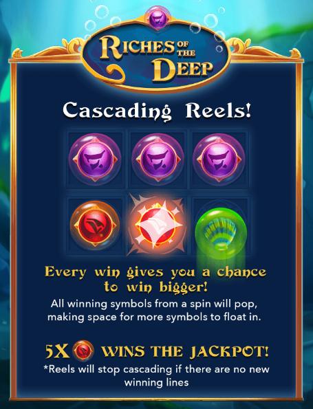 Riches of the Deep Slot Machine at Big Fish Casino - How to Play