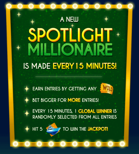 Spotlight Millionaire Slot Machine at Big Fish Casino - How to Play