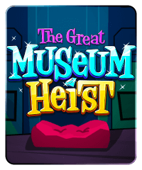 The Great Museum Heist Slot Machine at Big Fish Casino