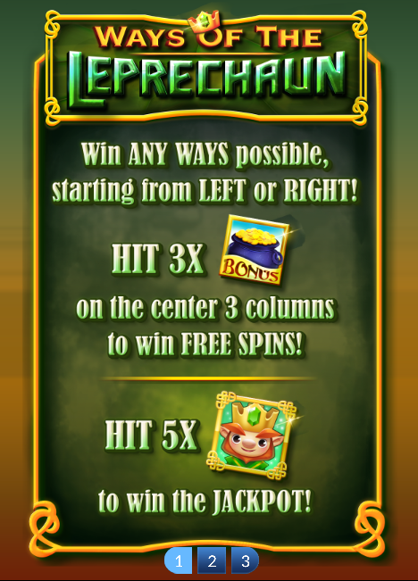 Ways of the Leprechaun Slot Machine at Big Fish Casino - How to Play