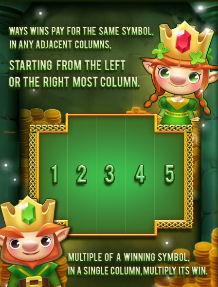 Ways of the Leprechaun Slot Machine at Big Fish Casino - Win Lines