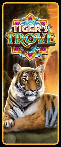 Tiger's Trove Slot Machine at Big Fish Casino