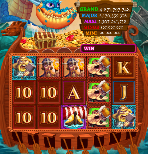 Fortune of the Fjords - Slot Machine from Big Fish Casino