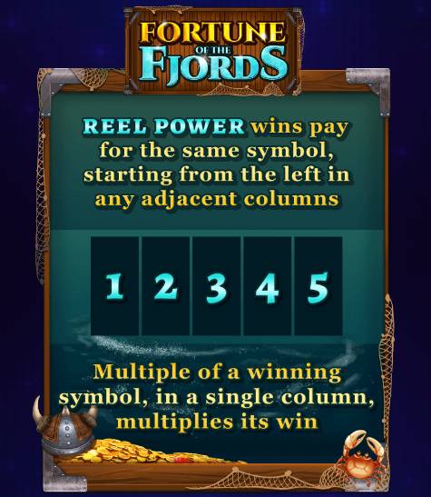 Fortune of the Fjords Slot Machine at Big Fish Casino - Win Lines