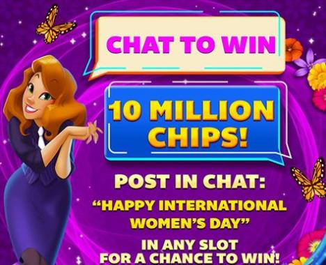 Freebie Friday: 50,000 Free Chips