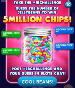 Jelly Bean Challenge - Win 5M Chips in Big Fish Casino