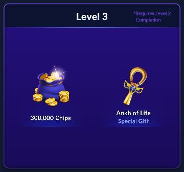 Big Fish Casino: Treasures Season 1 Rewards