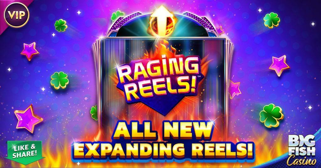 Ragjng Reels - New Slot at Big Fish Casino