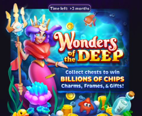 New Season of Big Fish Casino Treasures: Wonders of the Deep