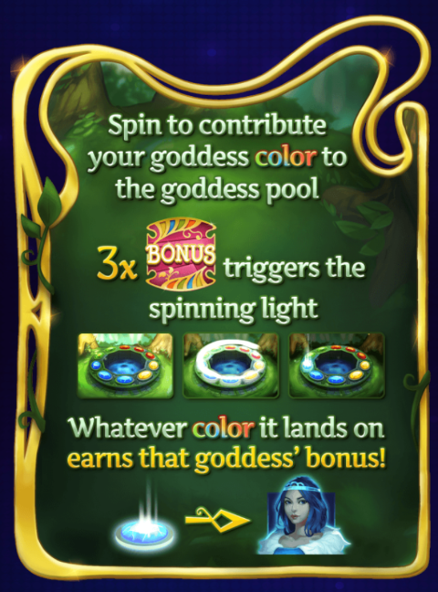 Goddess Grove Slot Machine at Big Fish Casino