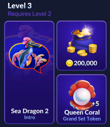 Big Fish Casino Treasures - Season 2 Reward