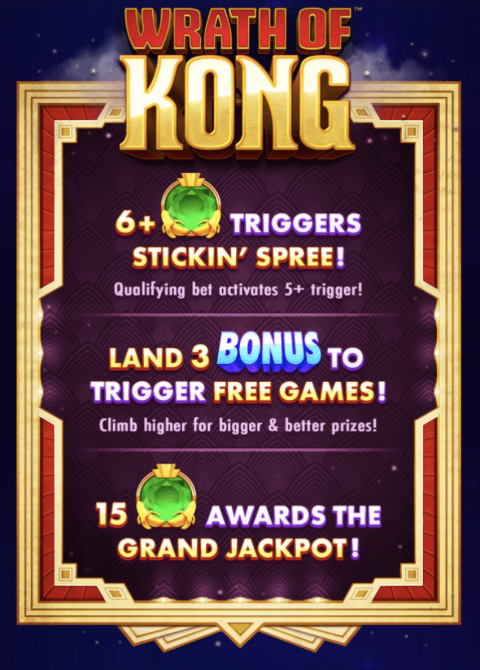 Wrath of Kong Slot Machine at Big Fish Casino - How to Play