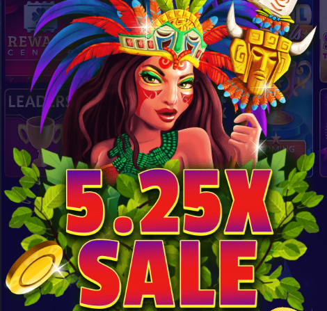 5.25X Chips & Gold Sale
