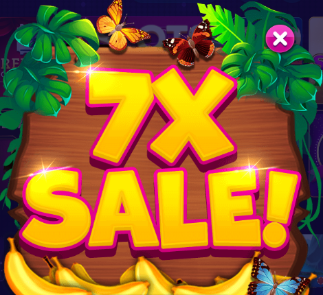 7X Chips & Gold Sale