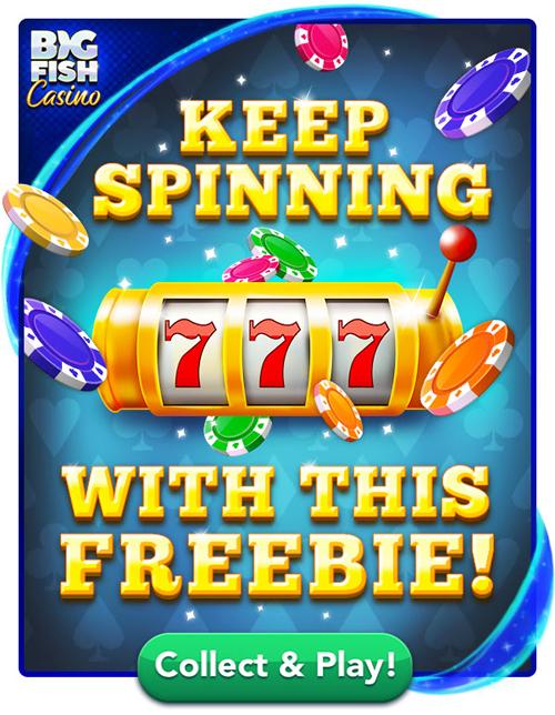 Big Fish Casino Email Freebie: 60,000 Free Chips