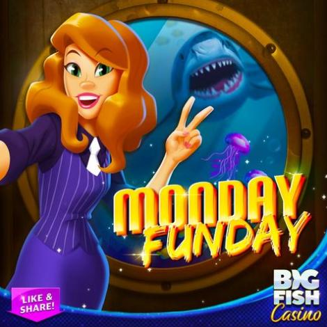 Big Fish Casino Monday Freebie: 60,000 Free Chips
